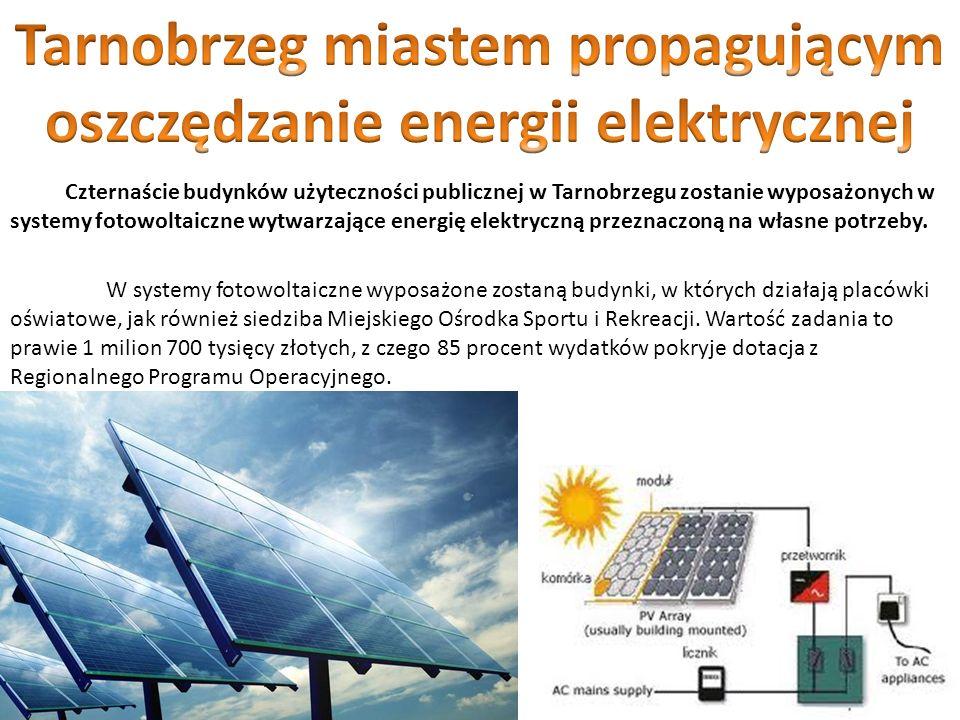 Tarnobrzeg miastem propagującym oszczędzanie energii elektrycznej