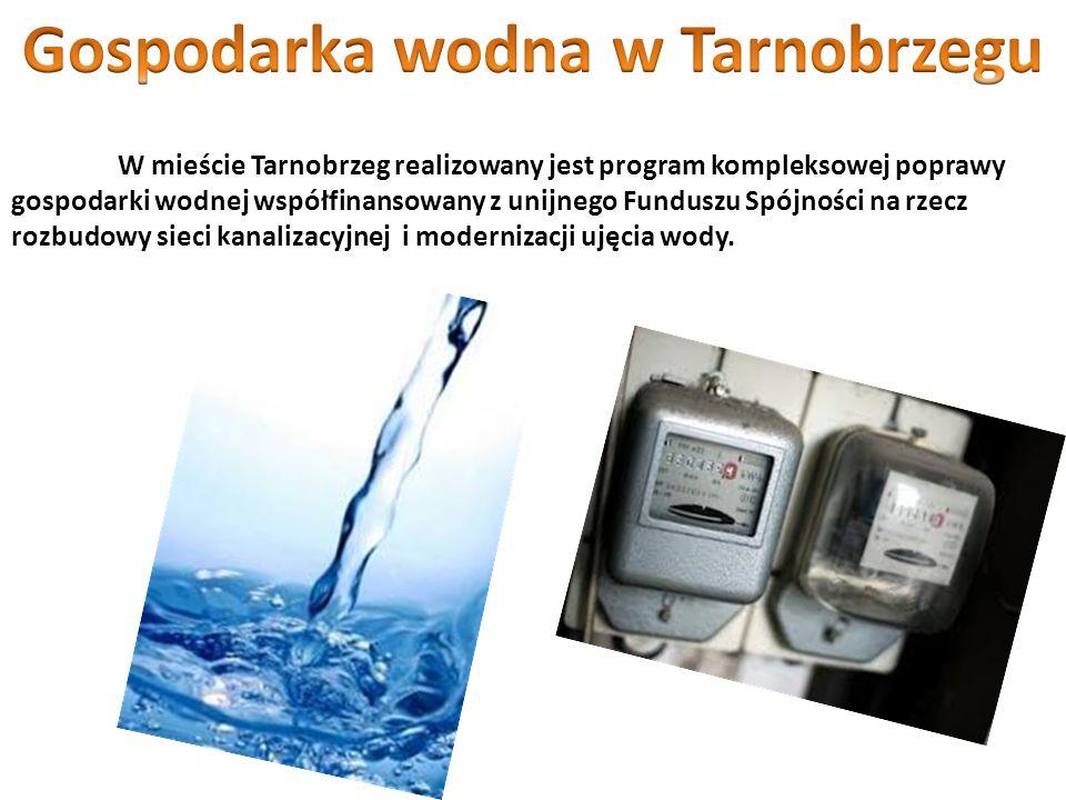 Gospodarka wodna w Tarnobrzegu