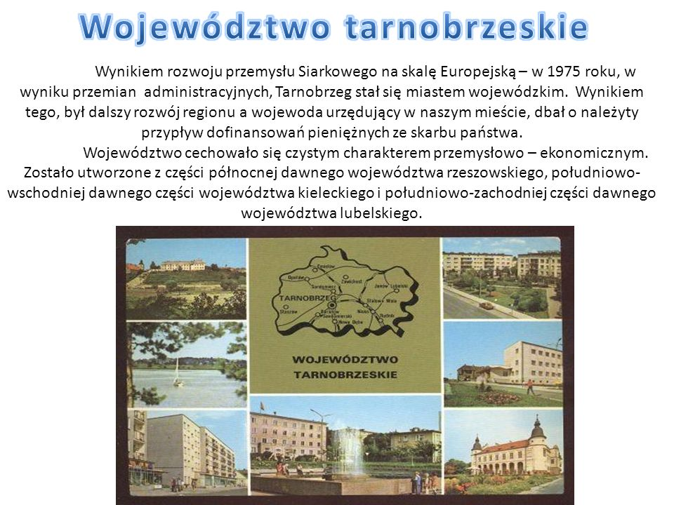 Województwo tarnobrzeskie