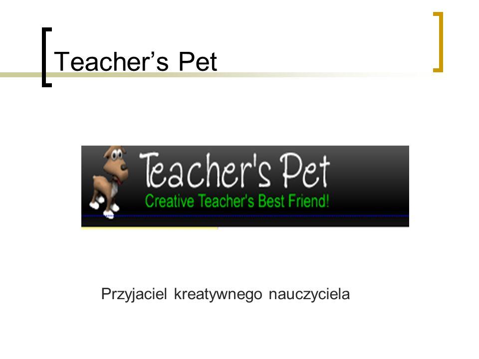 Teacher's Pet Przyjaciel kreatywnego nauczyciela