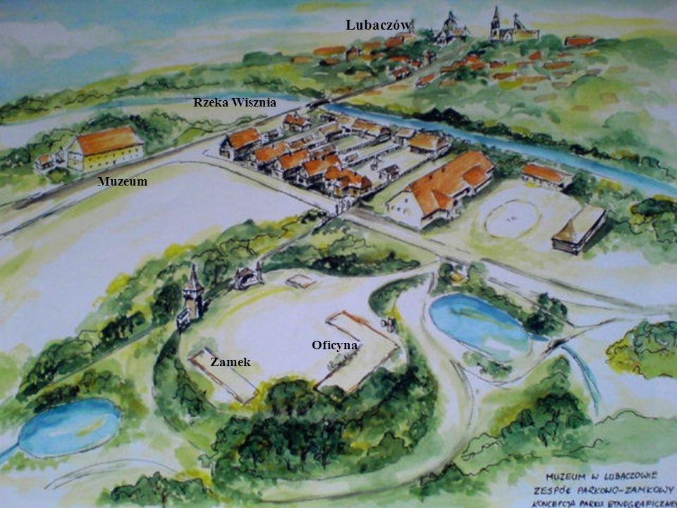 Lubaczów Rzeka Wisznia Muzeum Oficyna Zamek