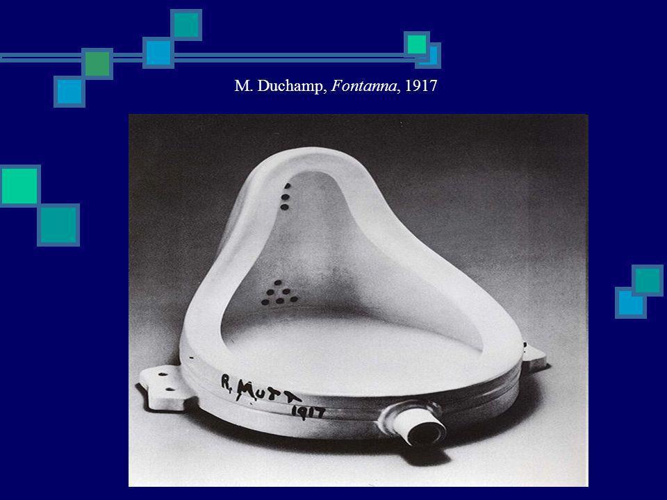 M. Duchamp, Fontanna, 1917