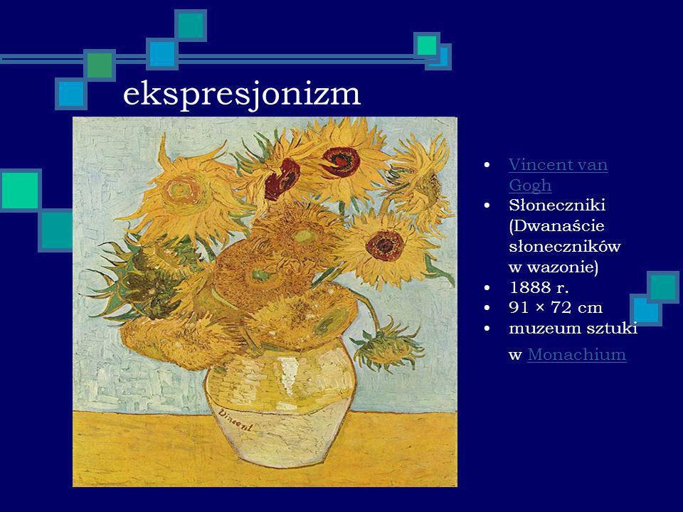 ekspresjonizm Vincent van Gogh