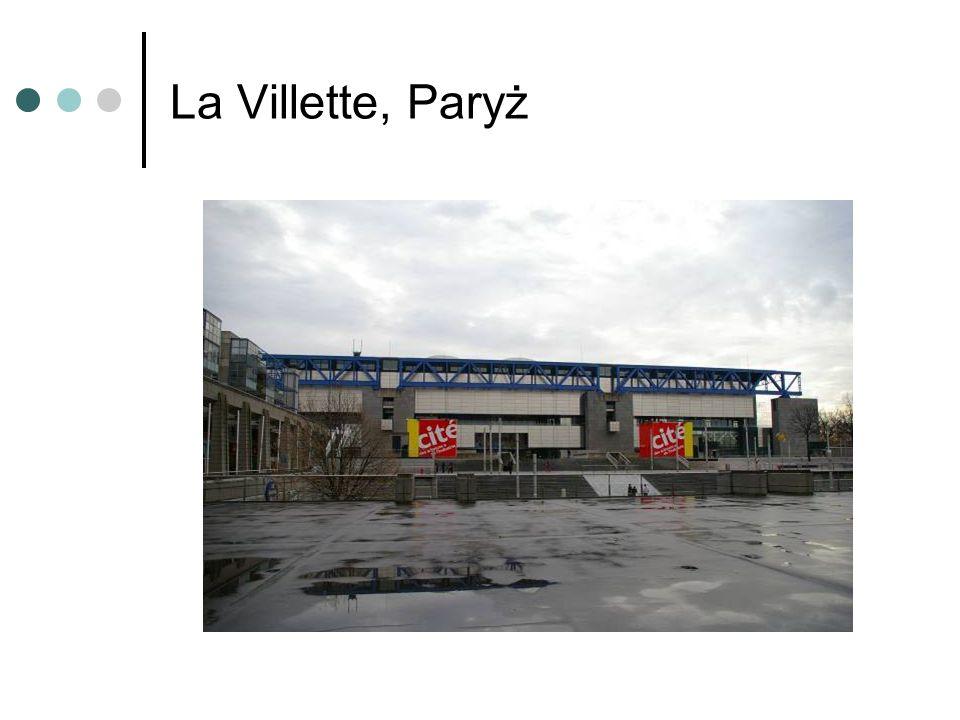 La Villette, Paryż