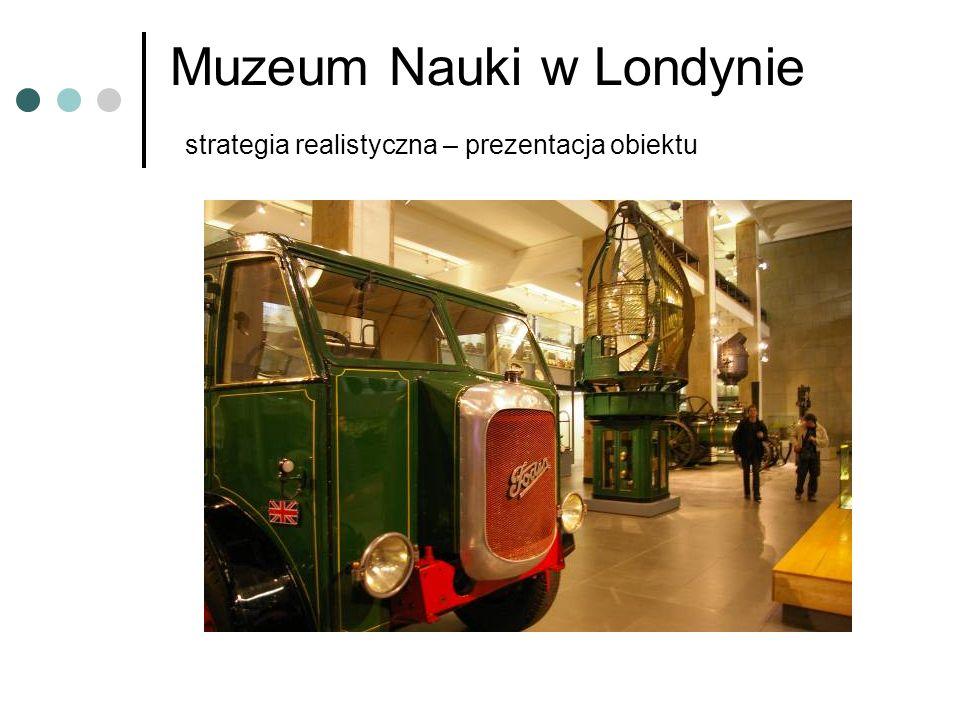 Muzeum Nauki w Londynie strategia realistyczna – prezentacja obiektu