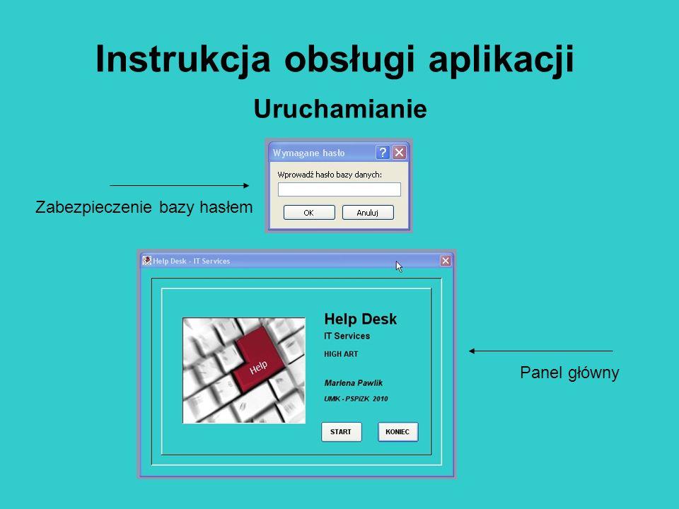 Instrukcja obsługi aplikacji