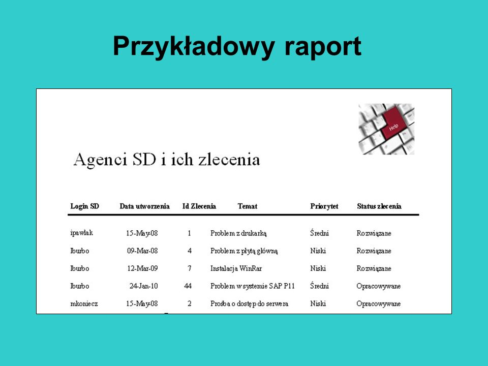 Przykładowy raport