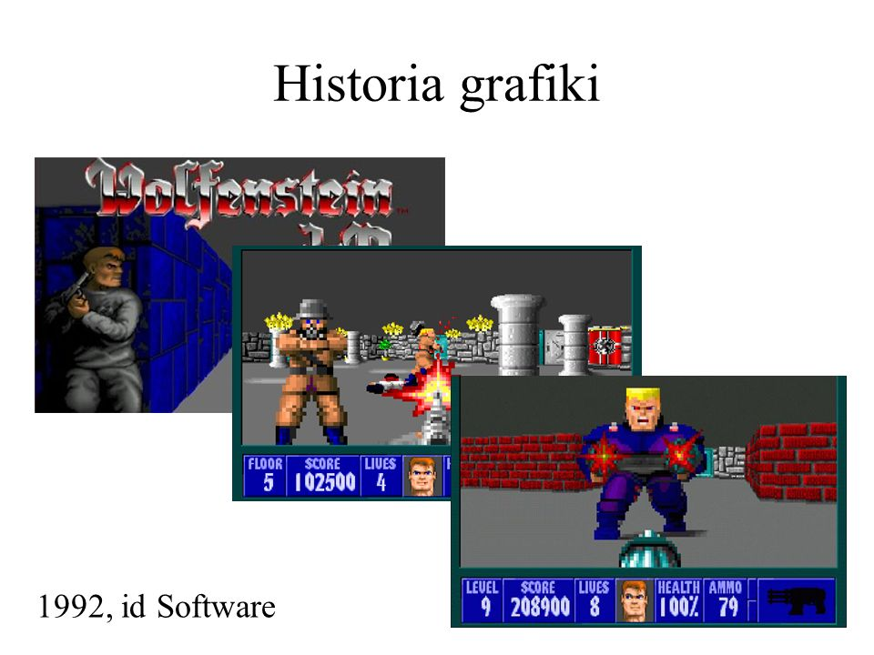 Historia grafiki 1992, id Software