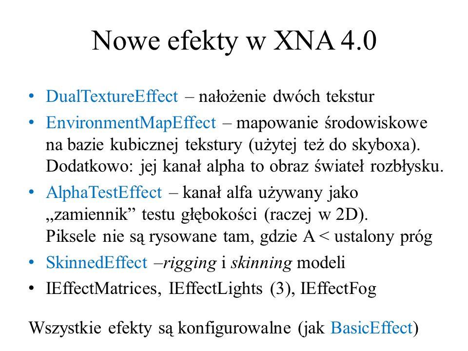 Nowe efekty w XNA 4.0 DualTextureEffect – nałożenie dwóch tekstur