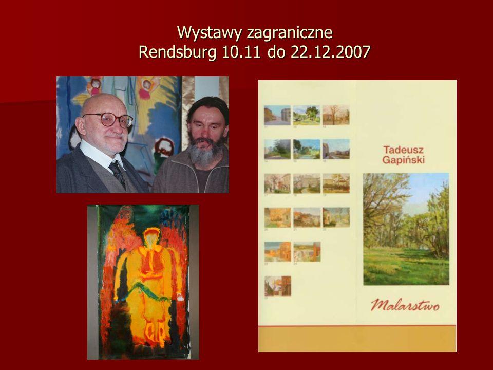 Wystawy zagraniczne Rendsburg 10.11 do 22.12.2007