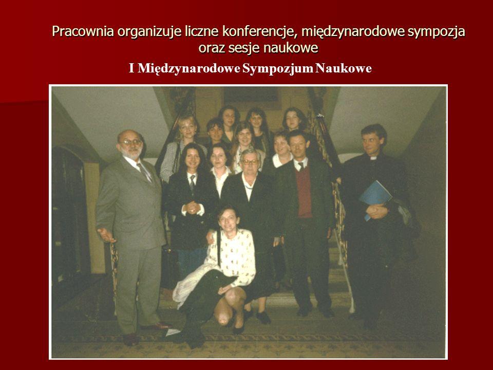 I Międzynarodowe Sympozjum Naukowe