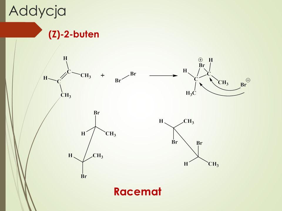 Addycja (Z)-2-buten + Racemat
