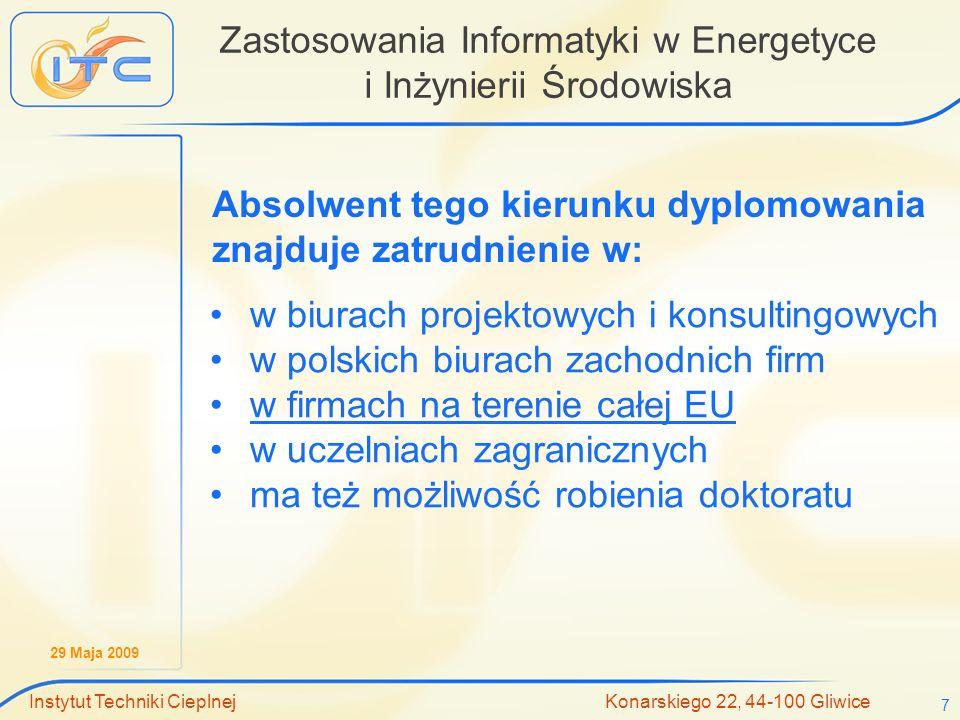 Zastosowania Informatyki w Energetyce i Inżynierii Środowiska