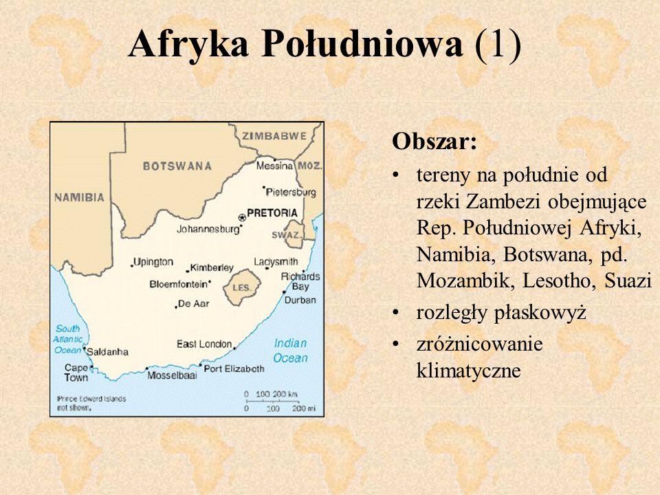 Afryka Południowa (1) Obszar: