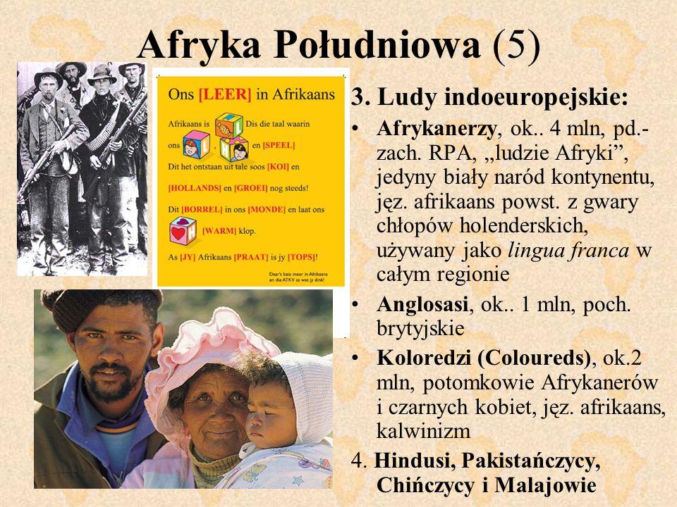 Afryka Południowa (5) 3. Ludy indoeuropejskie: