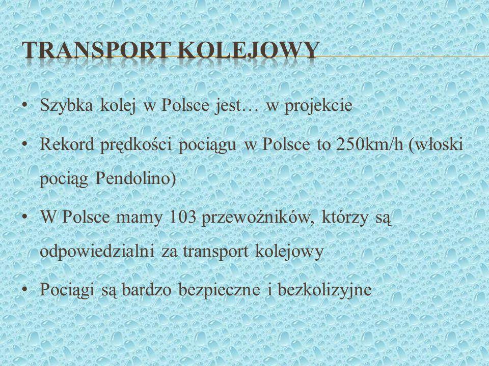 Transport kolejowy Szybka kolej w Polsce jest… w projekcie