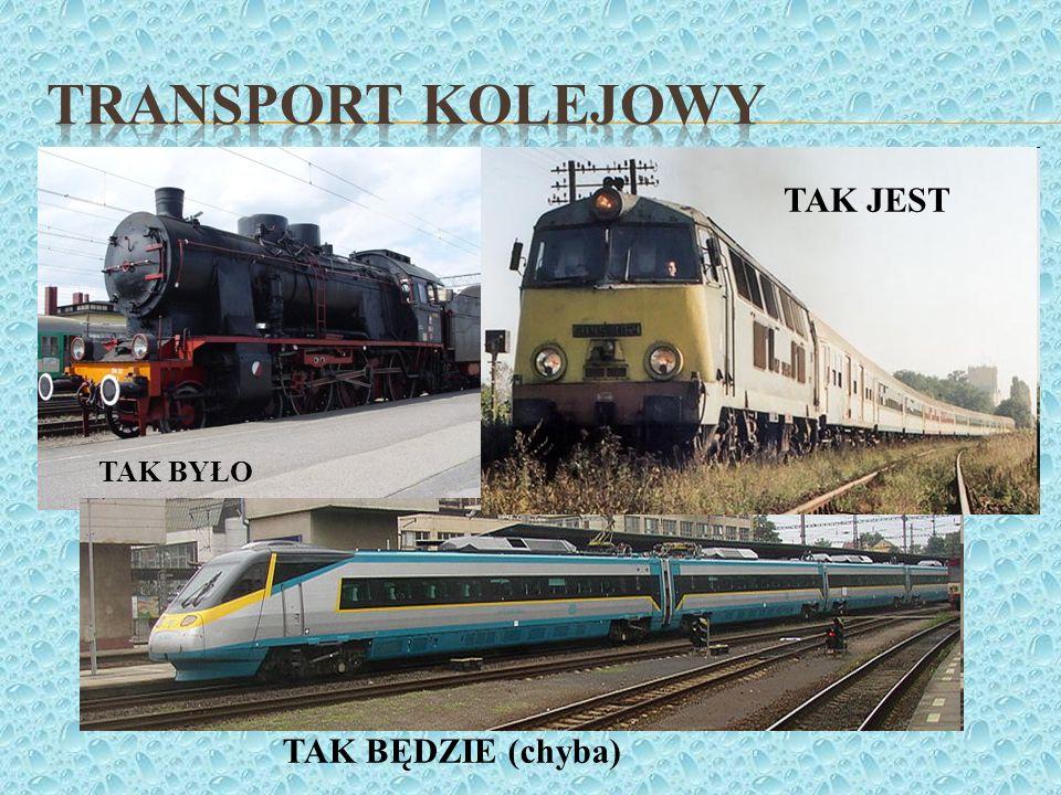 Transport kolejowy TAK JEST TAK BYŁO TAK BĘDZIE (chyba)