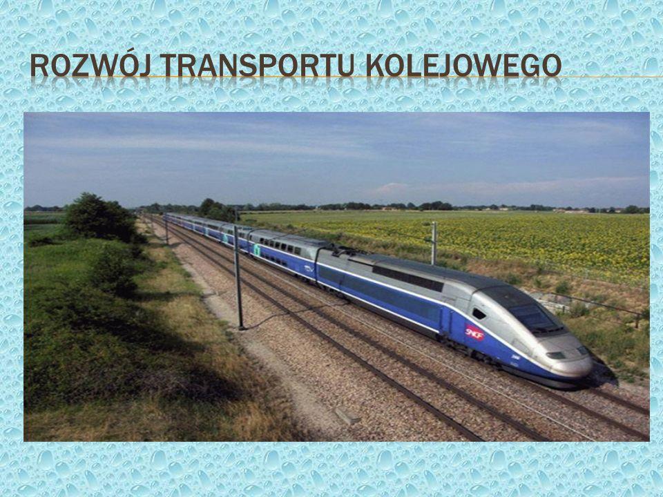 Rozwój transportu kolejowego