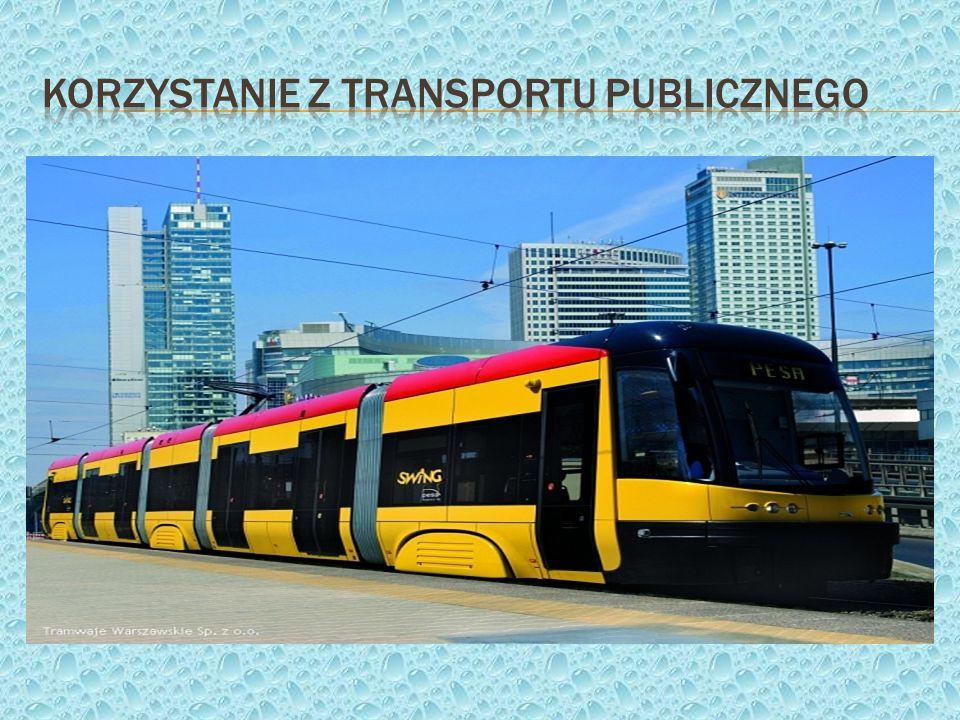 Korzystanie z transportu publicznego