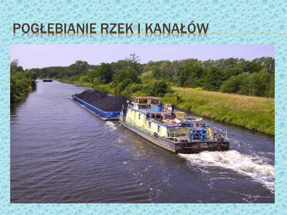 Pogłębianie rzek i kanałów