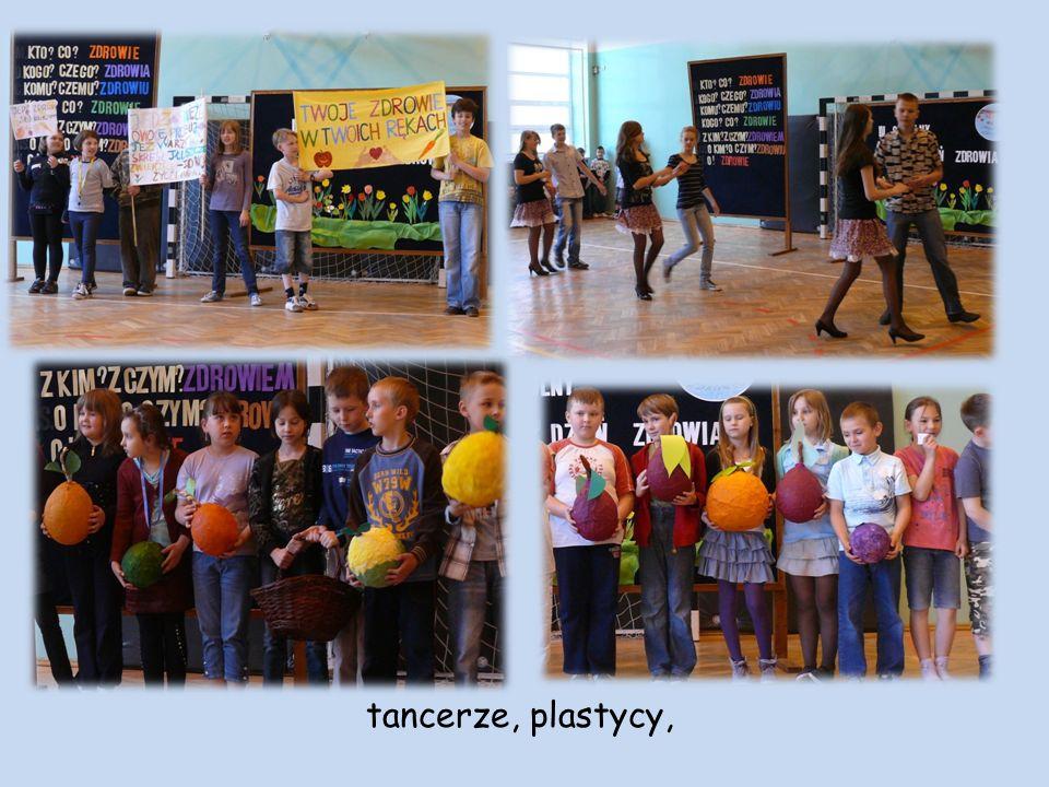 tancerze, plastycy,