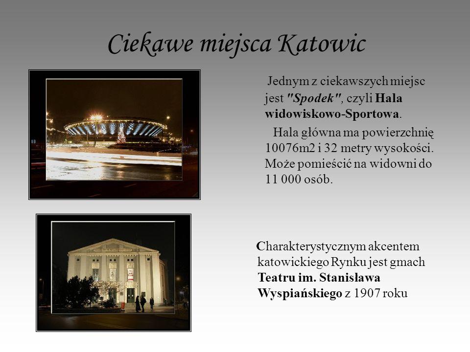 Ciekawe miejsca Katowic