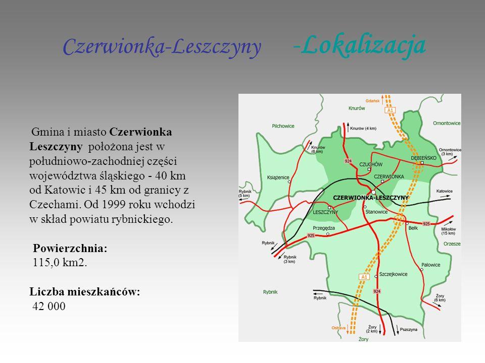 Czerwionka-Leszczyny -Lokalizacja