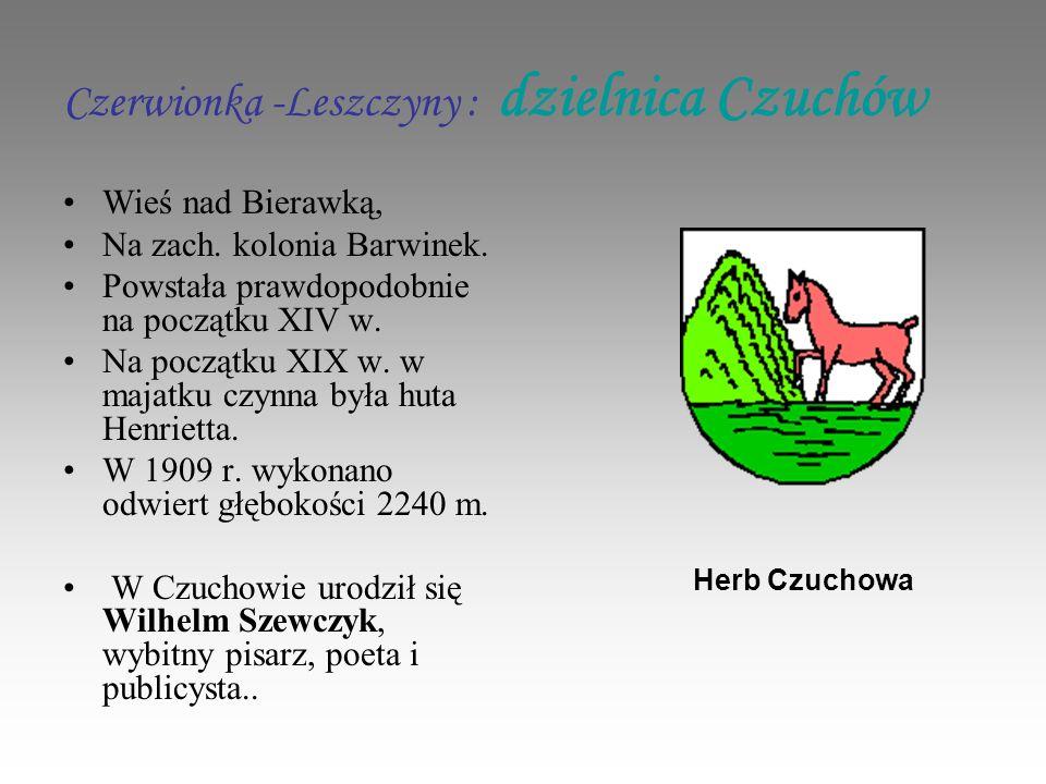 Czerwionka -Leszczyny : dzielnica Czuchów