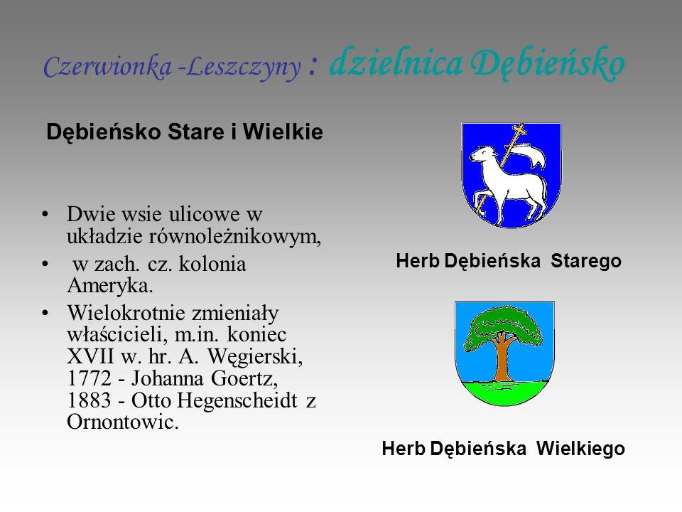 Czerwionka -Leszczyny : dzielnica Dębieńsko