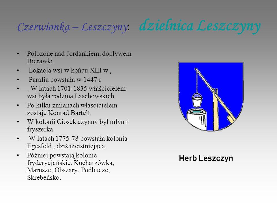 Czerwionka – Leszczyny: dzielnica Leszczyny