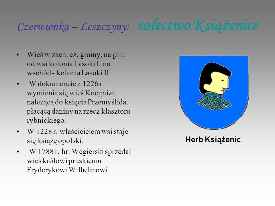Czerwionka – Leszczyny: sołectwo Książenice