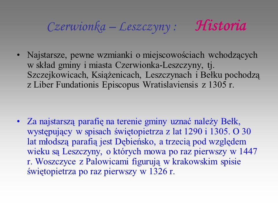 Czerwionka – Leszczyny : Historia