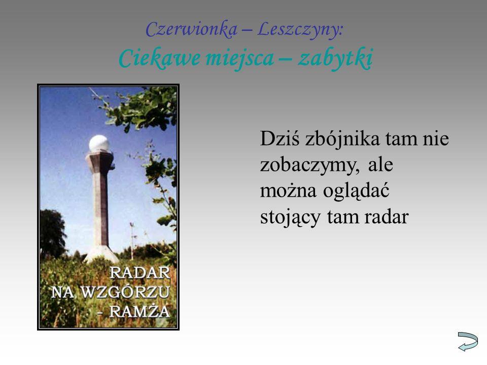 Czerwionka – Leszczyny: Ciekawe miejsca – zabytki