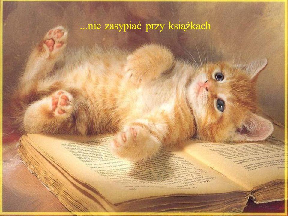 ...nie zasypiać przy książkach