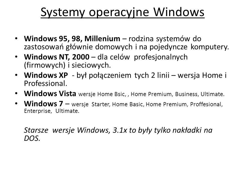 Systemy operacyjne Windows