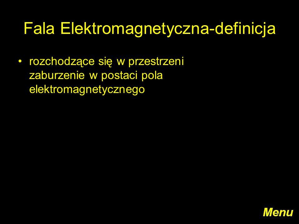 Fala Elektromagnetyczna-definicja