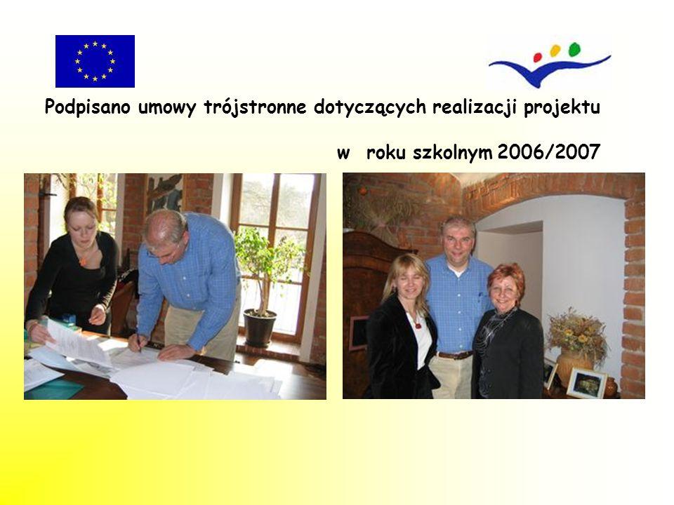 Podpisano umowy trójstronne dotyczących realizacji projektu
