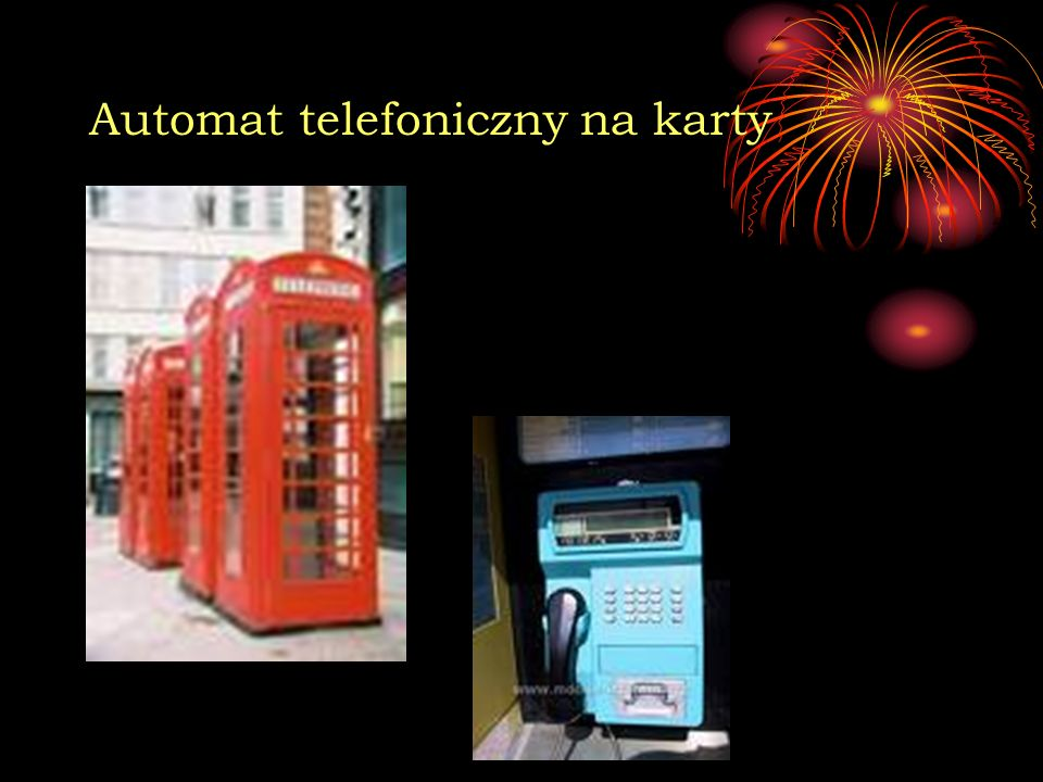 Automat telefoniczny na karty