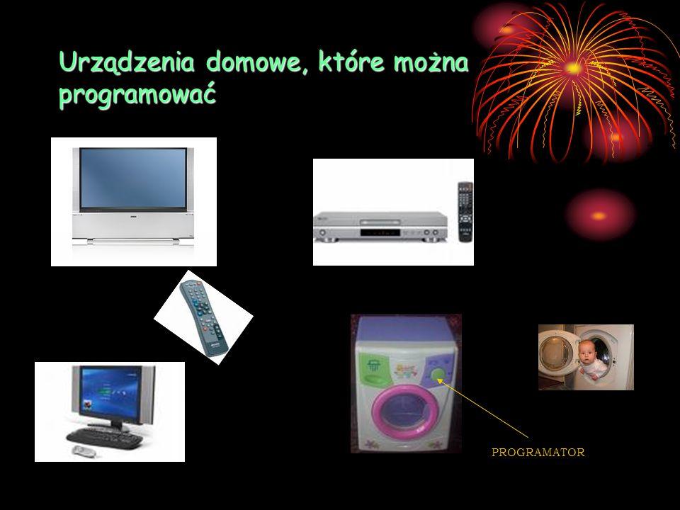 Urządzenia domowe, które można programować