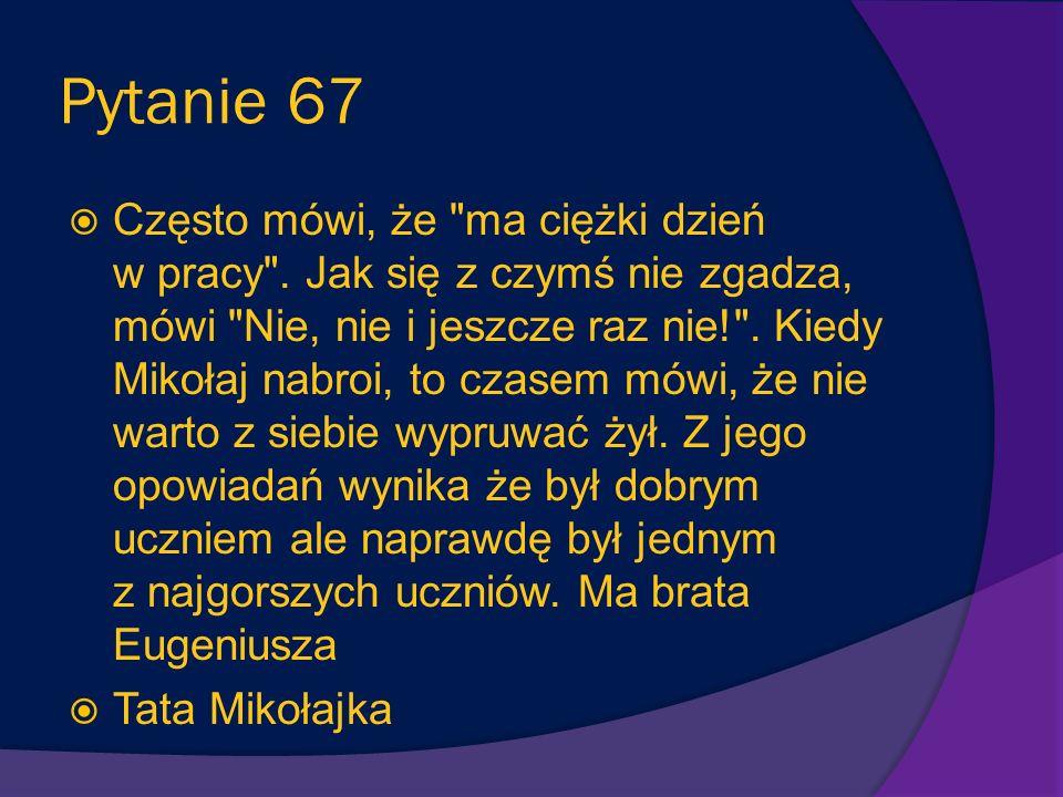 Pytanie 67