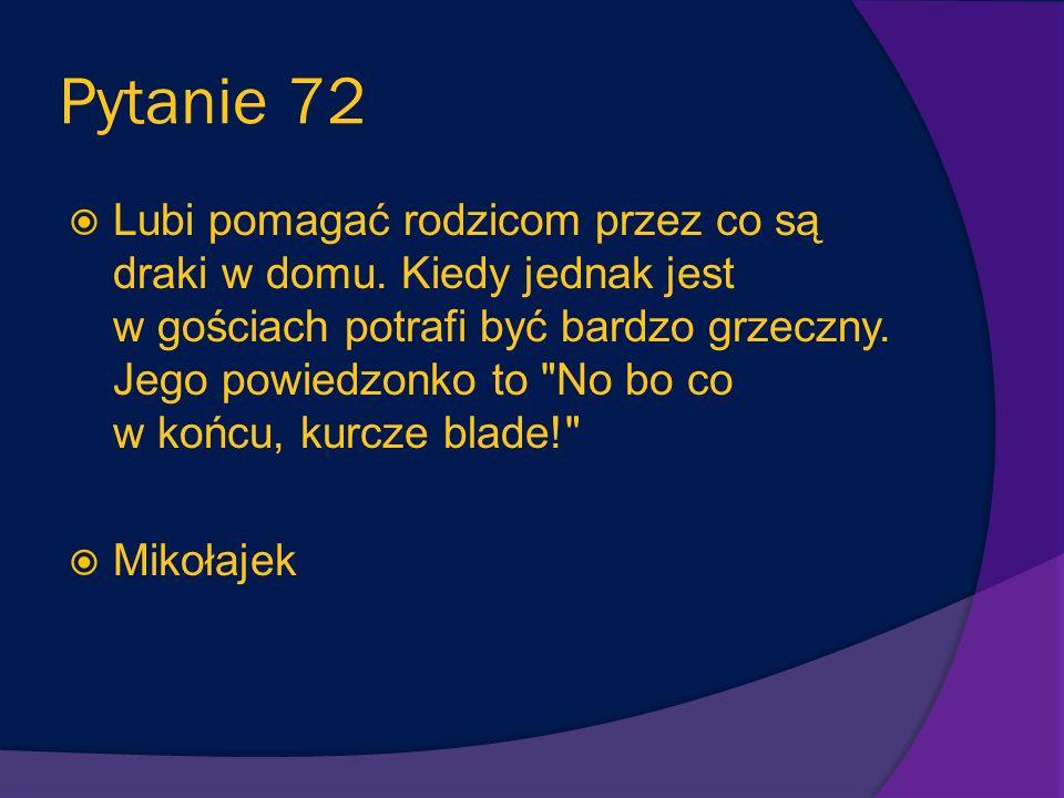 Pytanie 72