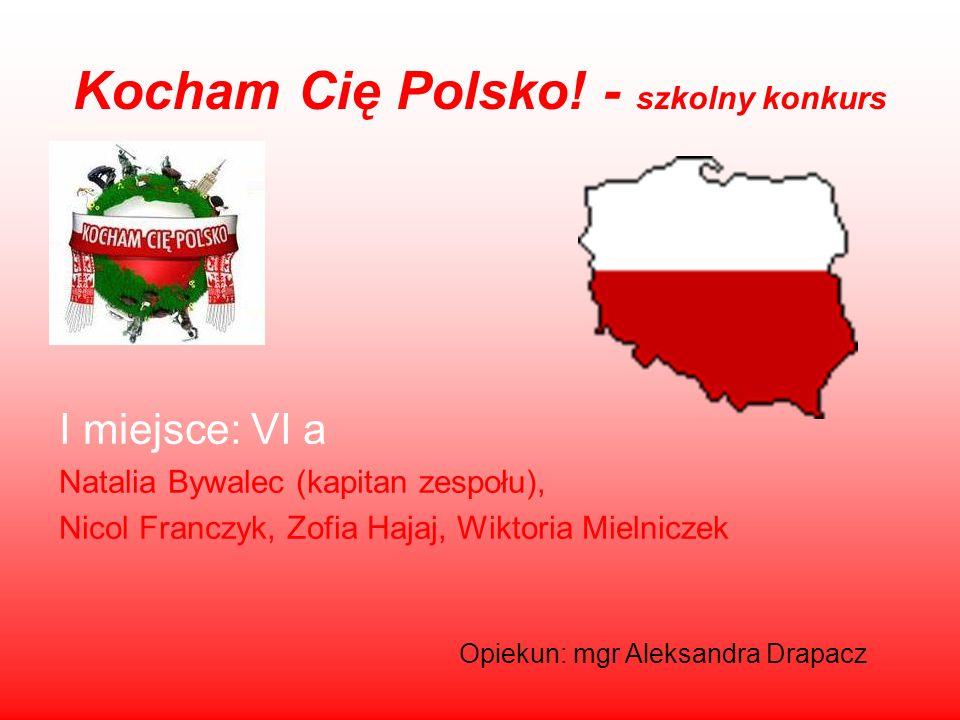 Kocham Cię Polsko! - szkolny konkurs