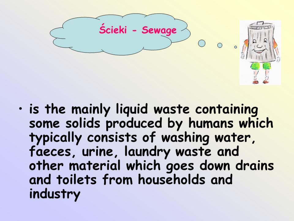 Ścieki - Sewage