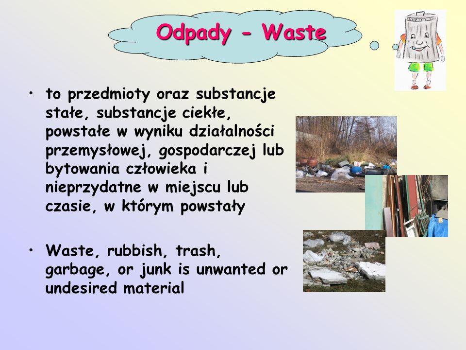 Odpady - Waste