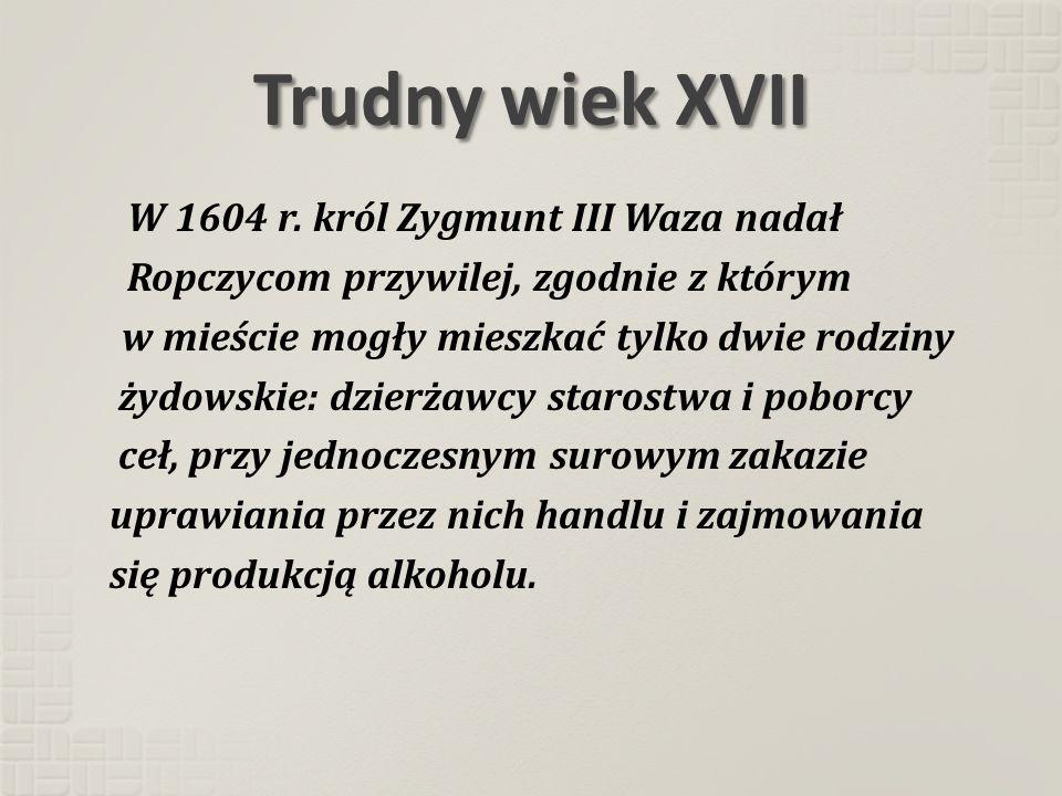 Trudny wiek XVII