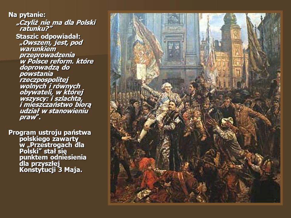 """Na pytanie: """"Czyliż nie ma dla Polski ratunku"""