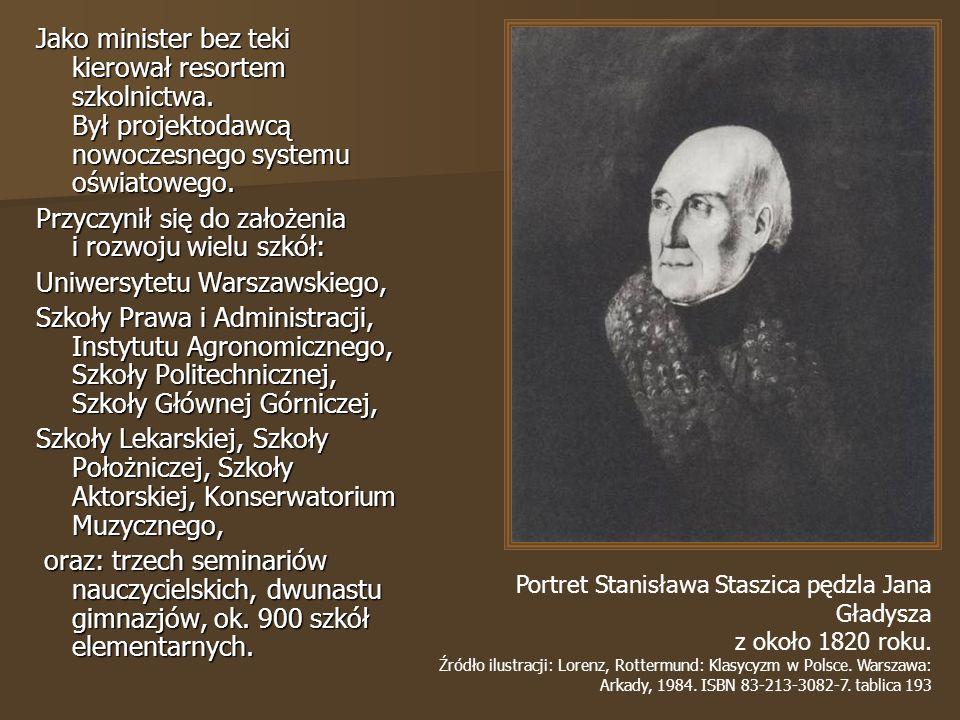 Przyczynił się do założenia i rozwoju wielu szkół: