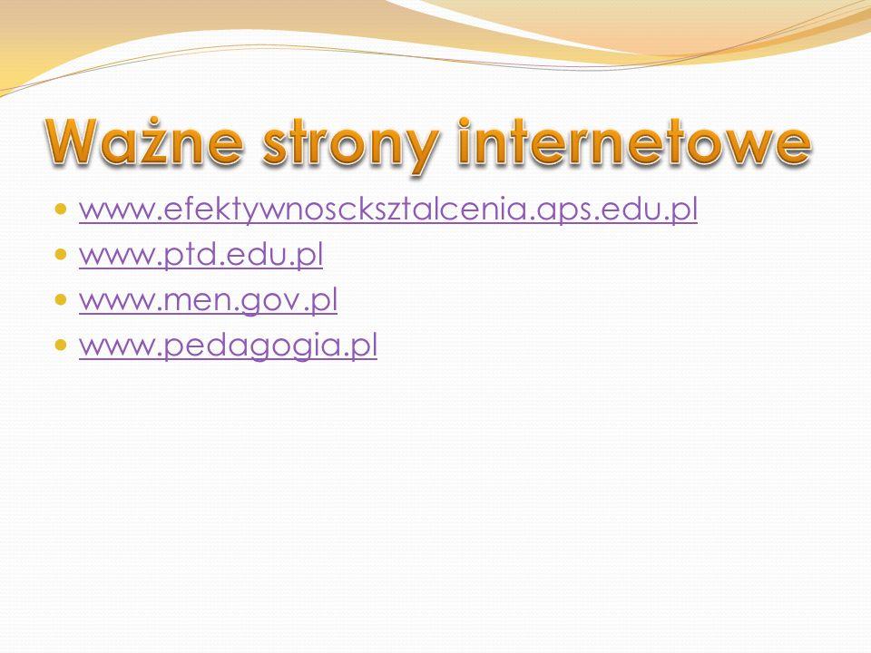 Ważne strony internetowe