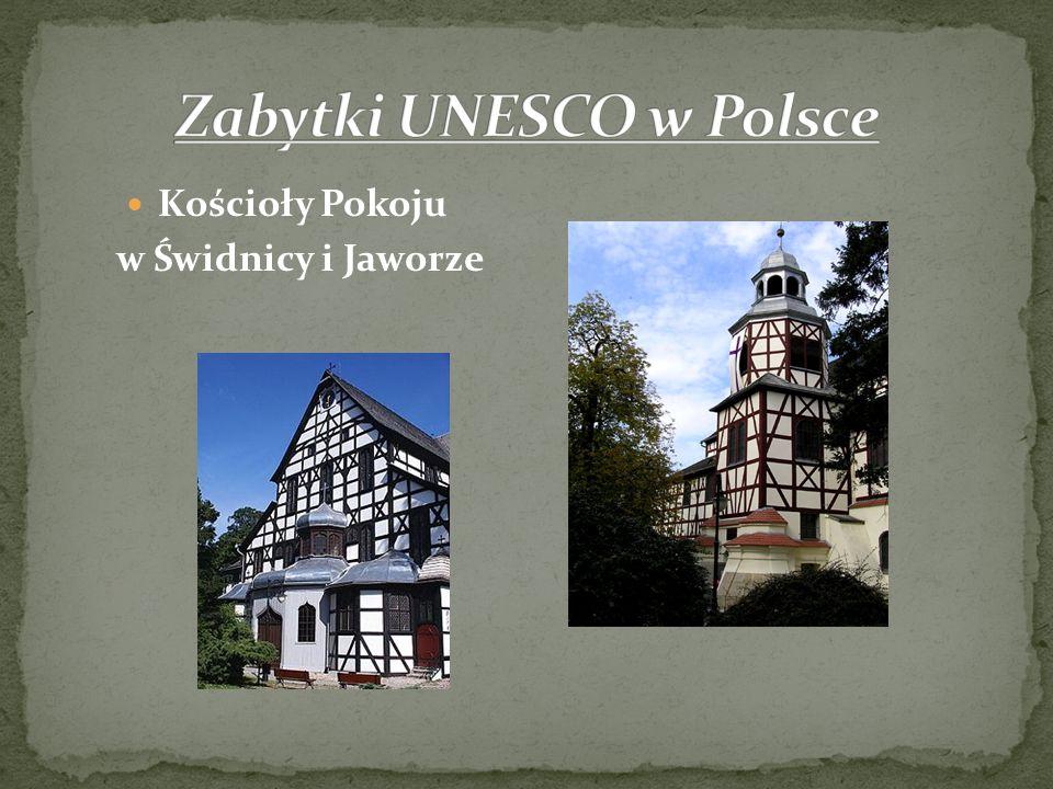 Zabytki UNESCO w Polsce