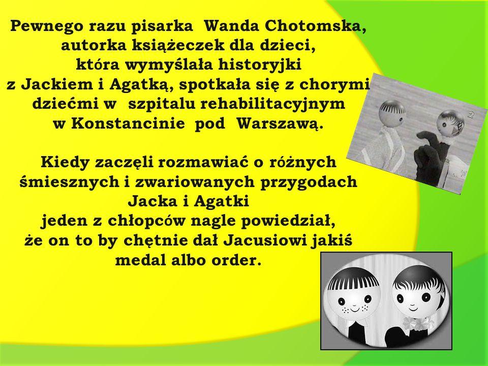 Pewnego razu pisarka Wanda Chotomska, autorka książeczek dla dzieci,